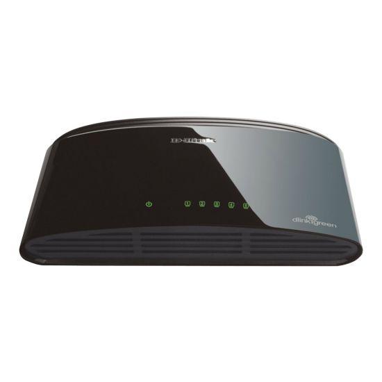 D-Link DES 1005D - switch - 5 porte - ikke administreret