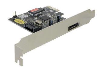 DeLOCK PCI Express controller card 1x eSATA, 1x SATA