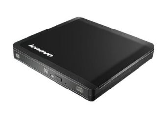 Lenovo Slim USB Portable DVD Burner &#45 DVD??RW (??R DL) / DVD-RAM &#45 USB 2.0
