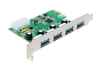 DeLock PCI Express Card > 4 x external USB 3.0