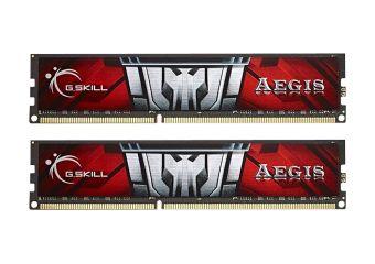 G.Skill AEGIS F3-1600C11D-8GIS &#45 8GB: 2x4GB &#45 DDR3 &#45 1600MHz &#45 DIMM 240-pin
