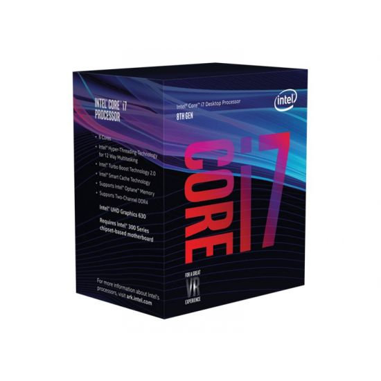 Intel Core i7 8700 / 3.2 GHz Coffee Lake Processor - LGA1151