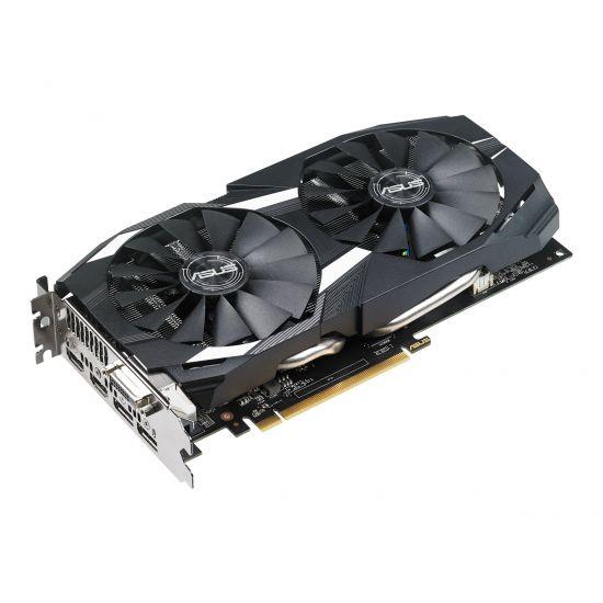 ASUS DUAL-RX580-O8G &#45 AMD Radeon RX580 &#45 8GB GDDR5 - PCI Express 3.0 x16
