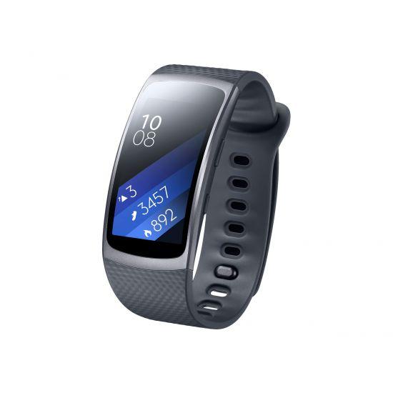 Samsung Gear Fit2 aktivitetssporer - 4 GB - sort