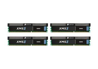 Corsair XMS3 &#45 32GB: 4x8GB &#45 DDR3 &#45 1600MHz &#45 DIMM 240-pin