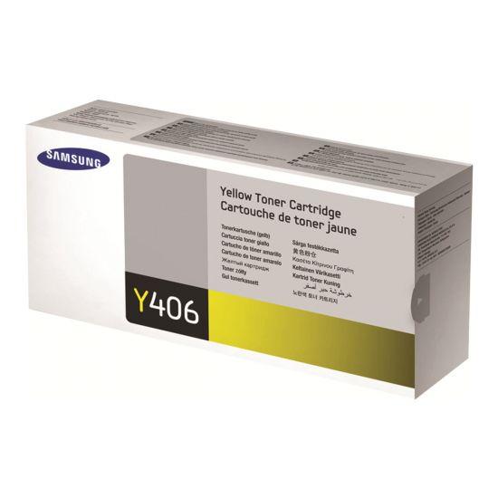 Samsung CLT-Y406S - gul - original - tonerpatron