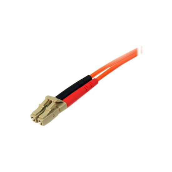 StarTech.com 3m Fiber Optic Cable - Multimode Duplex 50/125 - LSZH - LC/LC - netværkskabel - 3 m