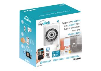 D-Link DCS 942L mydlink-enabled Enhanced Wireless N Day/Night Home Network Camera