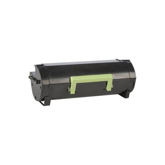 Lexmark 502X - Særlig høj ydelse - sort - original - tonerpatron - LCCP, LRP