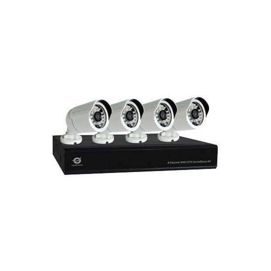 Conceptronic C8CHCCTVKITD1080 - DVR + kamera(er)
