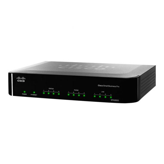 Cisco Small Business Pro SPA8800 IP Telephony Gateway - VoIP-telefonadapter
