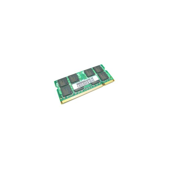 ASUS - DDR2 - 1 GB - SO DIMM 200-PIN - ikke bufferet