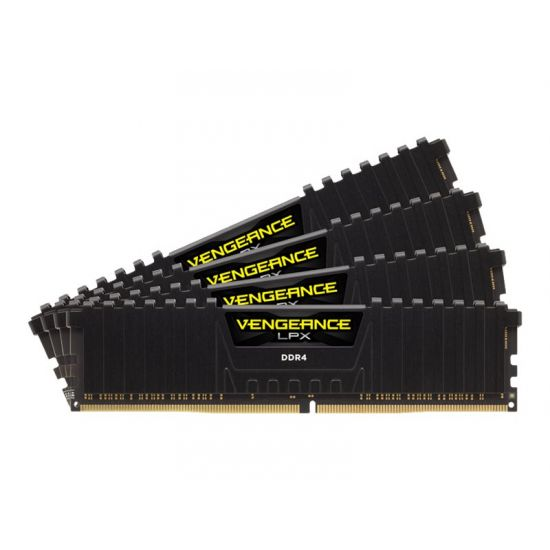 CORSAIR Vengeance LPX &#45 32GB: 4x8GB &#45 DDR4 &#45 2400MHz &#45 DIMM 288-PIN - CL16