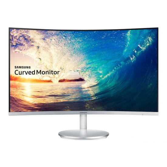 "Samsung CF591 Series C27F591FDU &#45 LED-Skærm 27"" AMD FreeSync VA 4ms - Full HD 1920x1080"