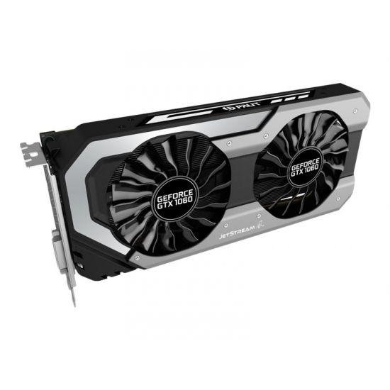Palit GeForce GTX 1060 Super JetStream &#45 NVIDIA GTX1060 &#45 6GB GDDR5 - PCI Express 3.0 x16