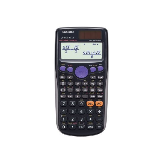 Casio FX-85DE Plus - videnskabelig regnemaskine