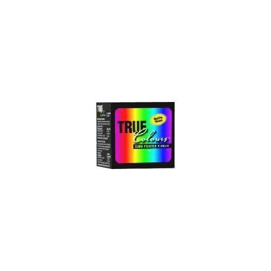 Zebra TrueColours - 1 - sølv - print-bånd