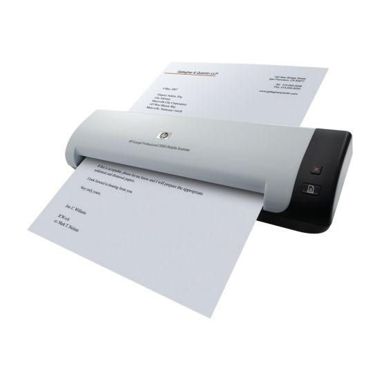 HP ScanJet 1000 Professional Mobile Scanner - scanner med papirfødning