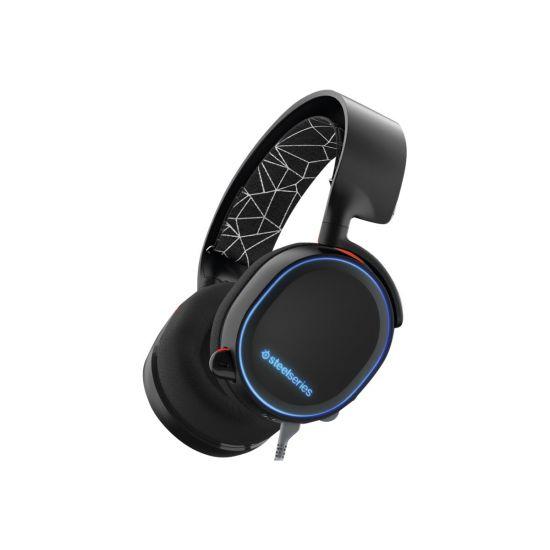 SteelSeries Arctis 5 - headset - sort
