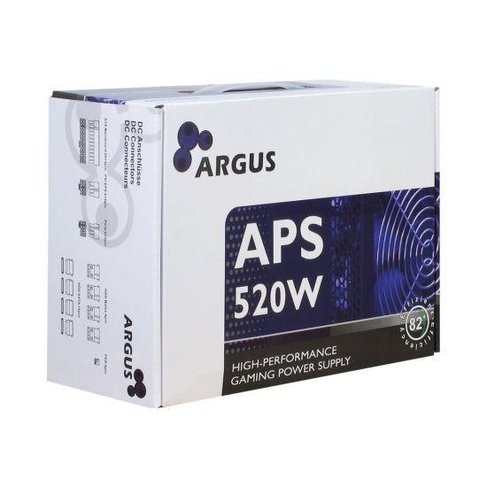 Inter-Tech Argus APS-520W &#45 strømforsyning &#45 520W