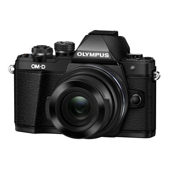 Olympus OM-D E-M10 Mark II - digitalkamera M.Zuiko Digital ED 14-42 mm EZ-objektiv