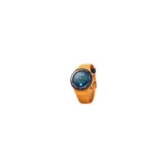 Huawei Watch 2 Sports - dynamisk orange - smart ur med sportsbånd - 4 GB