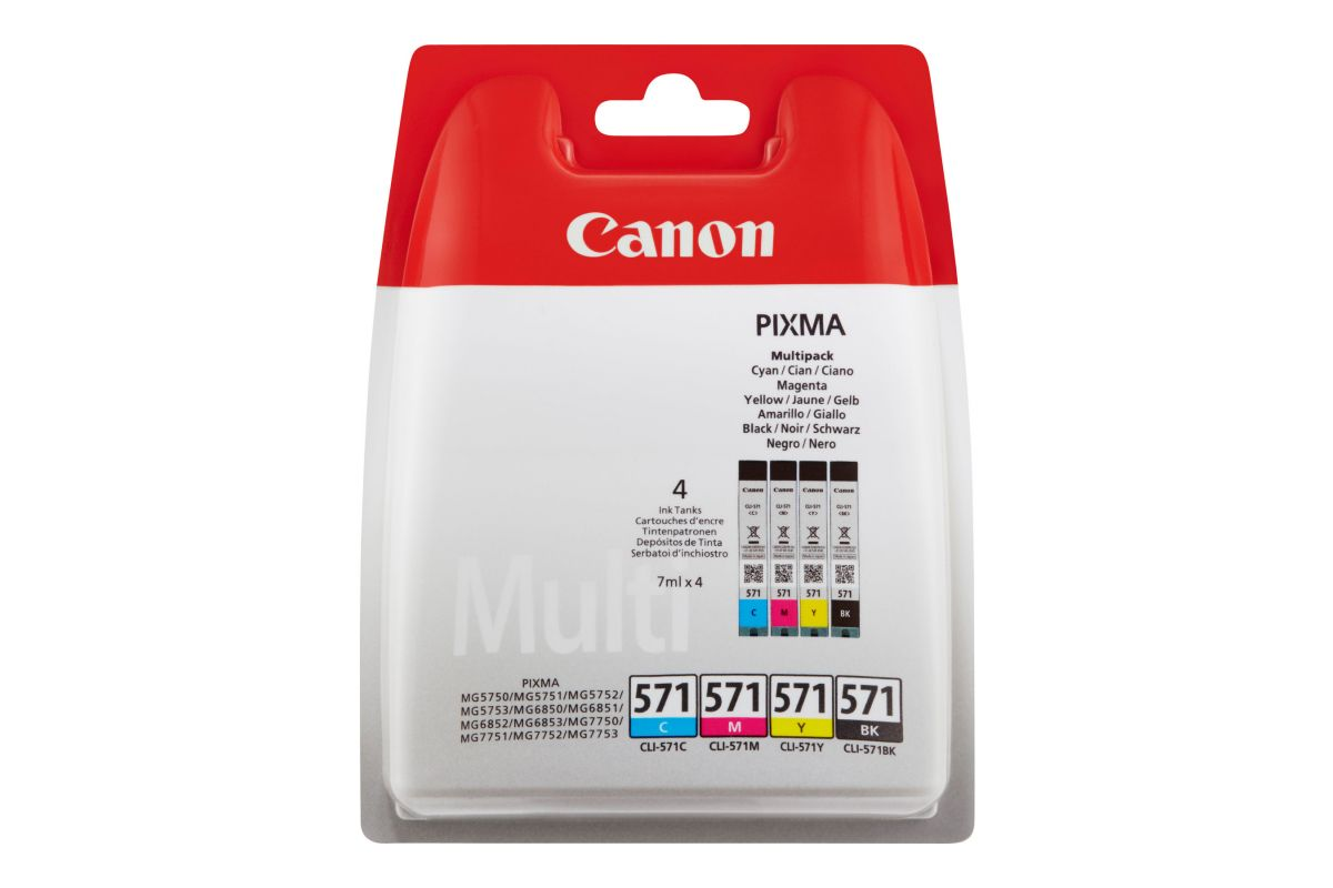 Canon CLI-571 C/M/Y/BK Value Pack