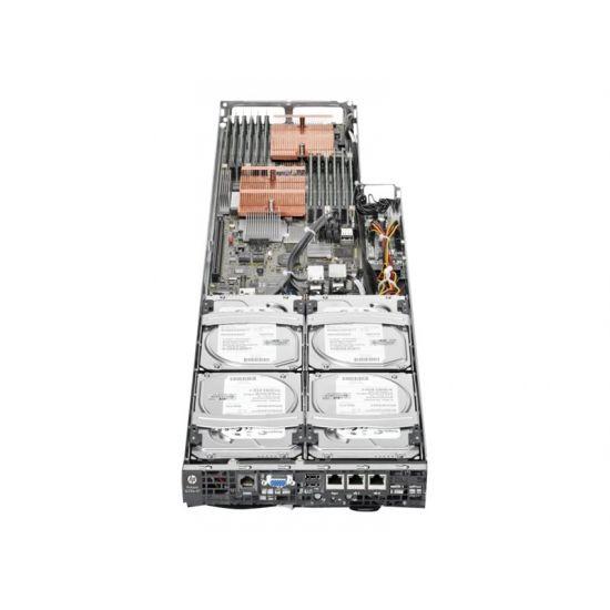 HPE ProLiant SL390s G7 1U Left Tray Node Server - indstikningsmodul - uden CPU - 0 MB