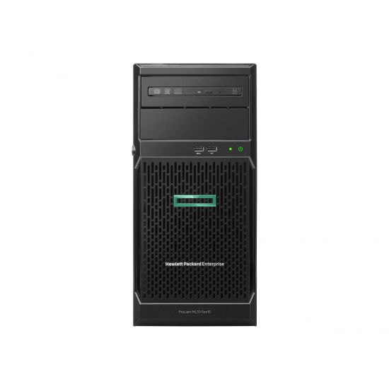 HPE ProLiant ML30 Gen10 Entry - tower - Xeon E-2124 3.3 GHz - 8 GB