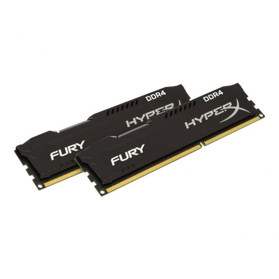 HyperX FURY &#45 16GB: 2x8GB &#45 DDR4 &#45 2666MHz &#45 DIMM 288-PIN - CL16