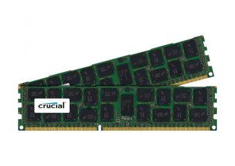 Crucial &#45 32GB: 2x16GB &#45 DDR3 &#45 1600MHz &#45 DIMM 240-pin
