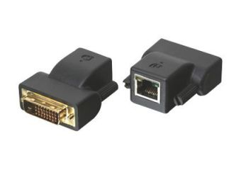 IOGEAR DVI-D CAT5e/6 MiniExtender GVE200 (1 Local & 1 Remote)