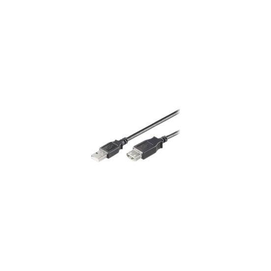 MicroConnect USB 2.0 - USB forlængerkabel - 5 m