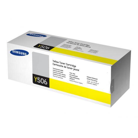 Samsung CLT-Y506L - gul - original - tonerpatron