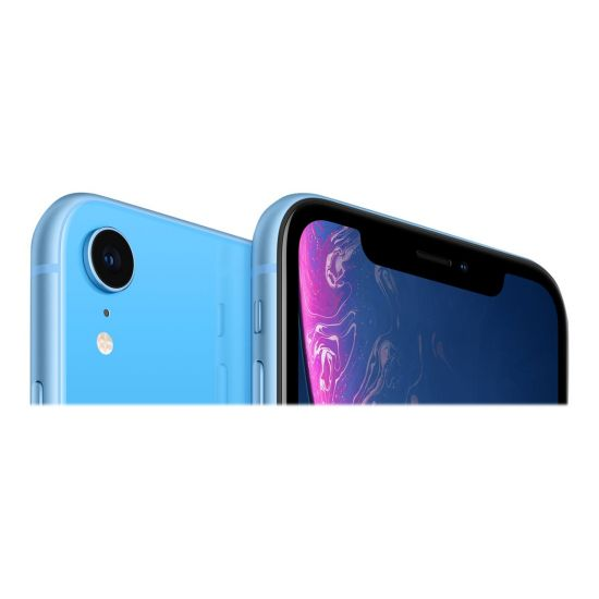 Apple iPhone Xr - blå - 4G LTE, LTE Advanced - 64 GB - GSM - smartphone