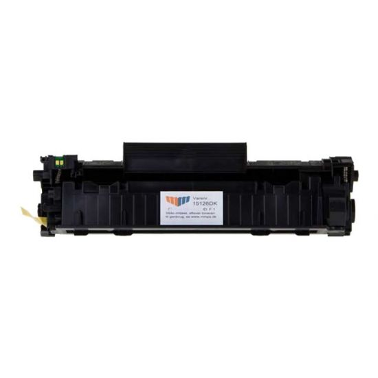 MM Print Supplies 15126DK - sort - Genproduceret - tonerpatron (alternative for: Canon 3500B002, Canon 728, HP CE278A)