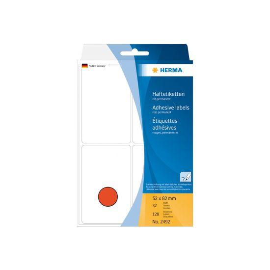 HERMA - etiketter - 128 etikette(r) - 52 x 82 mm