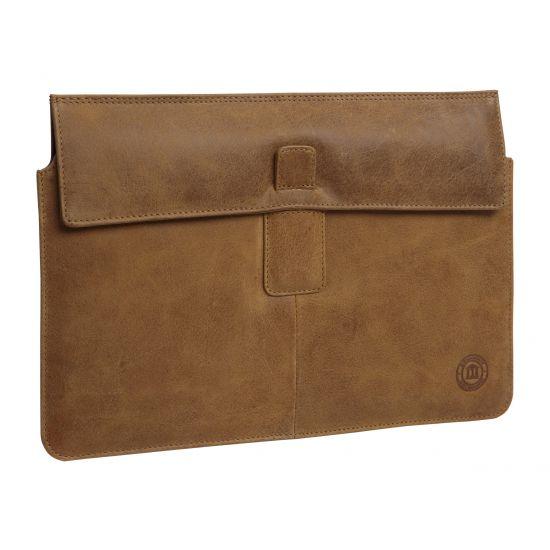 D. Bramante 15.4´´ Sleeve til MacBook Pro i Gylden tan Læder