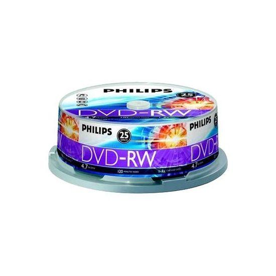 Philips DN4S4B25F - DVD-RW x 25 - 4.7 GB - lagringsmedie