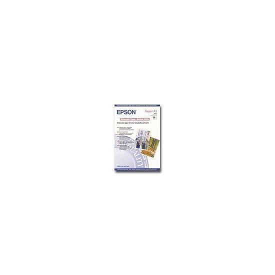 Epson Radiant White - akvarelpapir - 20 ark