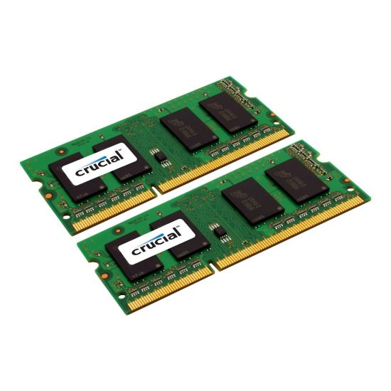 Crucial &#45 16GB: 2x8GB &#45 DDR3L &#45 1600MHz &#45 SO DIMM 204-PIN - CL11