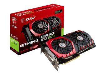 MSI GeForce GTX 1070 GAMING 8G grafikkort