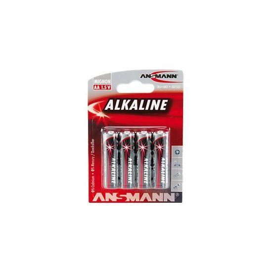 ANSMANN Mignon batteri - AA type - Alkalisk x 4