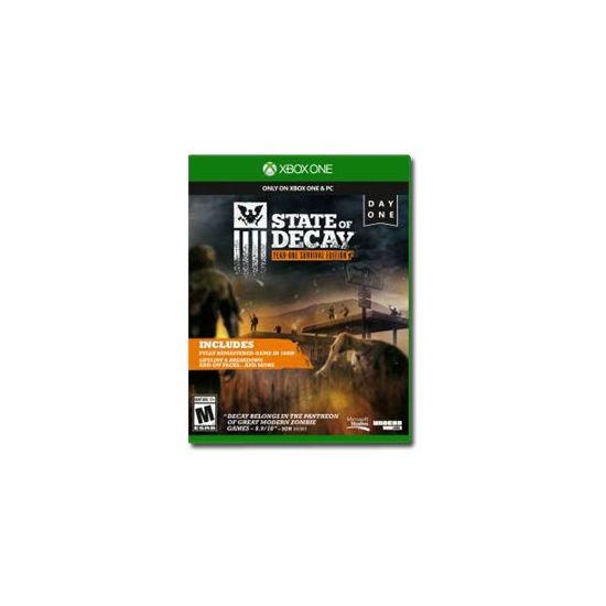 State of Decay Year-One Survival Edition. Day One Edition - Microsoft Xbox One