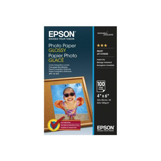 Epson - fotopapir - 100 ark - 102 x 152 mm - 200 g/m²