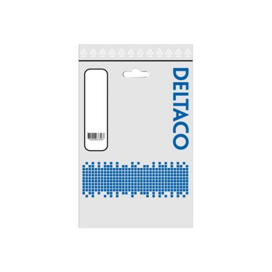 Deltaco SATA-kabel Vinkel 50 cm