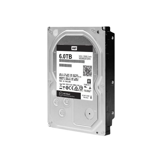 WD Black Performance Hard Drive WD6002FZWX &#45 6TB - SATA 6 Gb/s