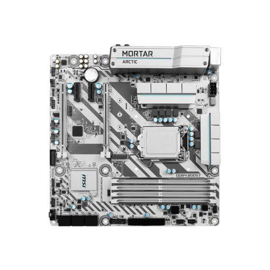 MSI H270M MORTAR ARCTIC - bundkort - micro-ATX - LGA1151 Socket - H270