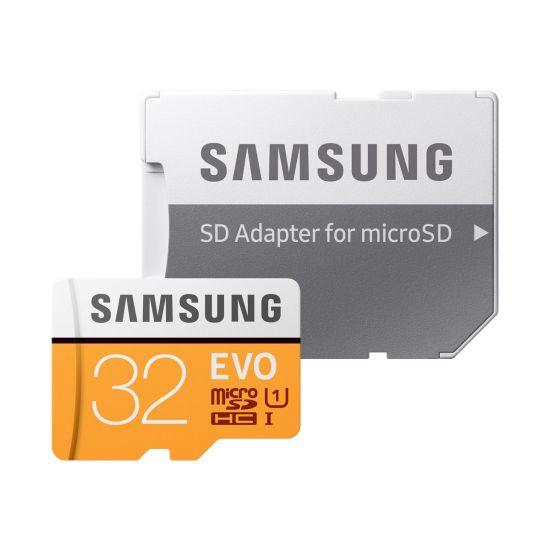 Samsung EVO MB-MP32GA - flashhukommelseskort - 32 GB - microSDHC UHS-I