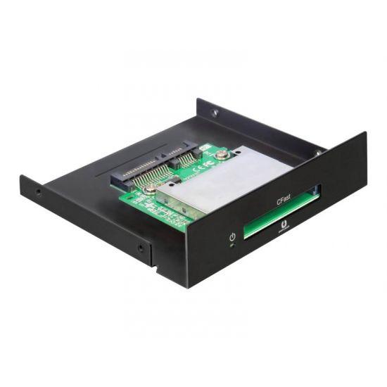 DeLOCK SATA 3.5 Card Reader > CFast - kortlæser - Serial ATA